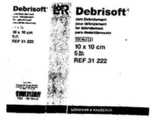 Debrisoft label