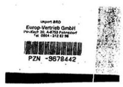 Import label