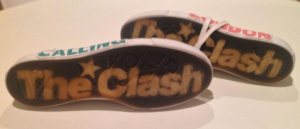 The Clash sneakers