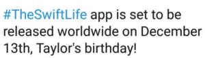 The SwiftLife app