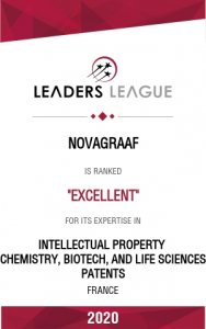 novagraaf rankef excellent for chemistry, biotech, life sciences
