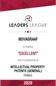 novagraaf ranked excellent for patents